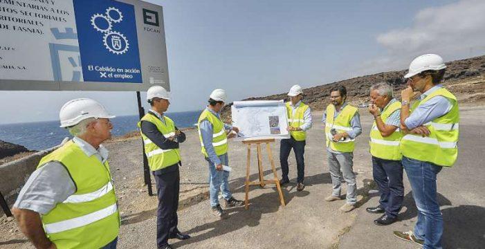 El Cabildo construye la primera fase de la depuradora de Los Roques de Fasnia, por más de un millón de euros