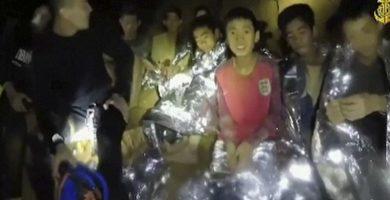 Los niños atrapados en la cueva de Tailandia