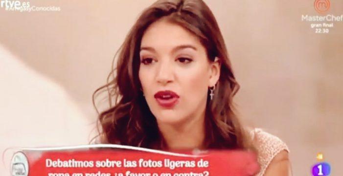 El 'zasca' de Ana Guerra a las preguntas machistas del programa 'Amigas y Conocidas'