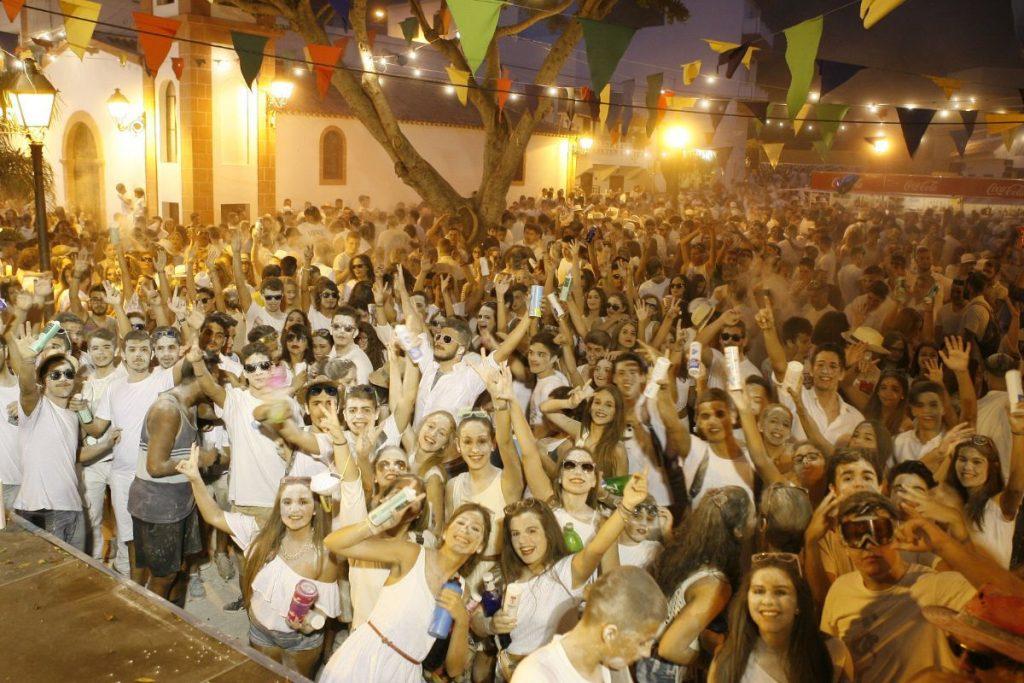 Fiesta de los Polvos Blancos. Candelaria