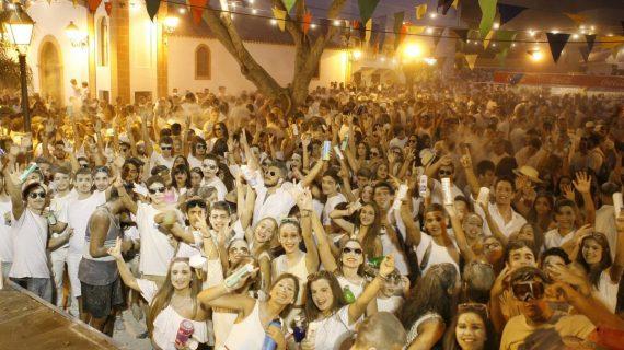 La falta de seguridad acaba con los multitudinarios polvos blancos de Barranco Hondo
