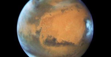 Marte, más cerca de la Tierra este 31 de julio que nunca desde 2003.   EP