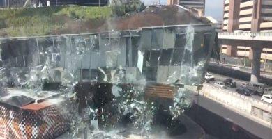 Se derrumba parte de un centro comercial de lujo en México. / EE