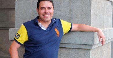 El exresponsable financiero de la empresa pública del Cabildo de Tenerife Sinpromi, Andrés Hernández Pedreira, en una imagen de archivo. Sergio Méndez