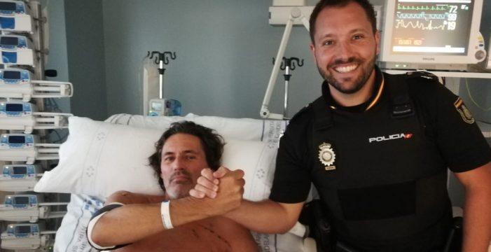 La Policía Nacional alaba en Twitter la heroica acción de un agente en Tenerife