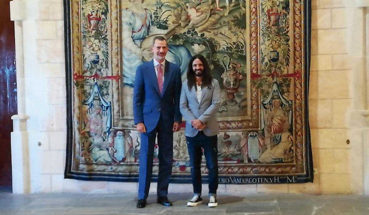 El rey traslada al presidente del Parlament balear la dificultad de dialogar sobre Cataluña. | EP