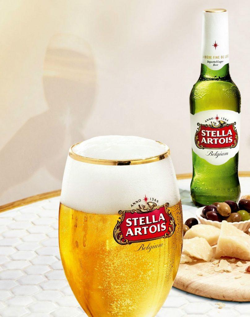 Stella Artois: los rigurosos estándares de Stella Artois están asegurados con la inversión hecha en las fábrica de CCC.