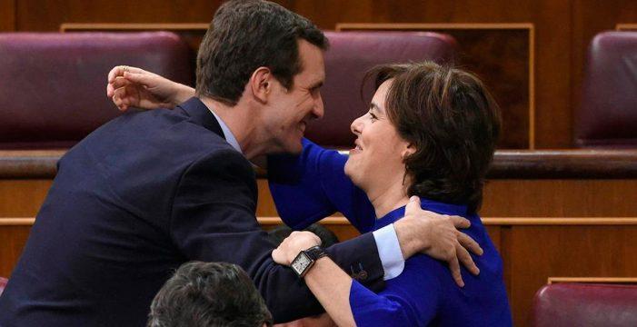 El PP canario prefiere a Santamaría, que se disputará el liderazgo con Casado