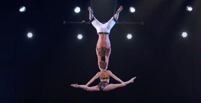 Espeluznante caída en un número acrobático de 'Got Talent'