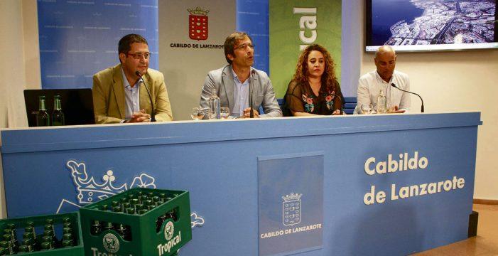 Compañía Cervecera desarrolla un proyecto pionero de gestión de envases en La Graciosa