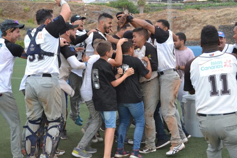 celebración marlins beisbol
