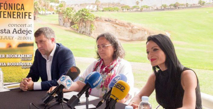 La soprano Davinia Rodríguez y la OST, el viernes en Costa Adeje