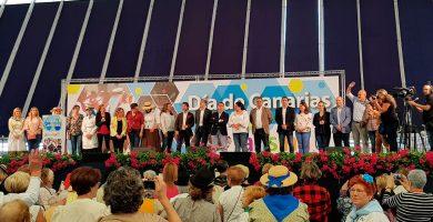 La 'fiesta de la mortadela' de CC en el Recinto Ferial costó 104.000 euros del erario público