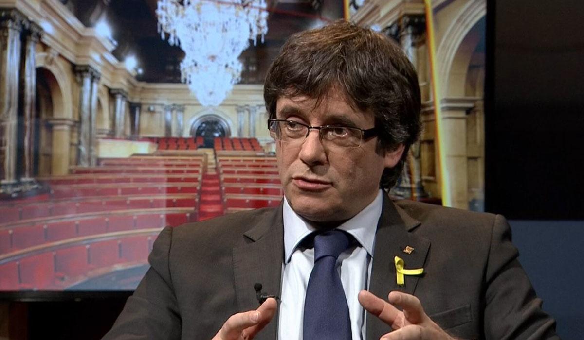 Carles Puigdemont, expresidente catalán. | EUROPA PRESS