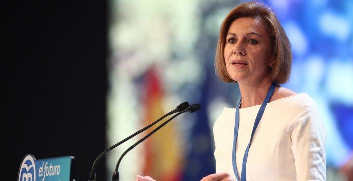 Cospedal anuncia que deja la Secretaría General del Partido Popular