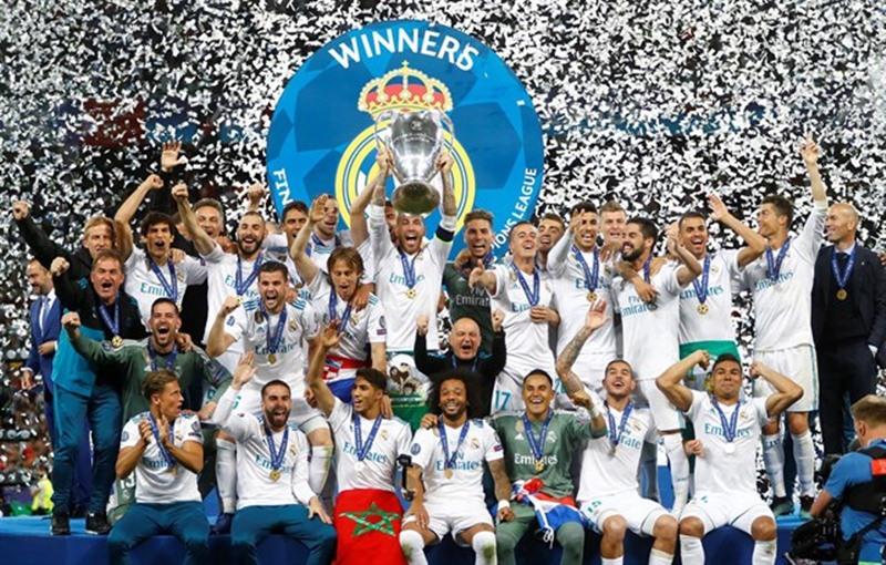 El Real Madrid, celebrando su última Copa de Europa. / Ep