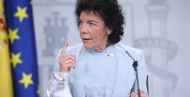 La ministra portavoz, Isabel Celáa. / EP