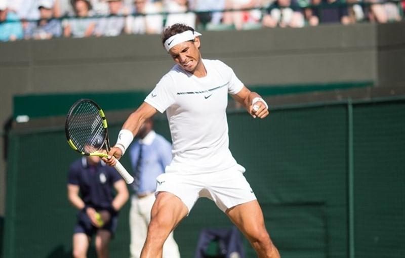 Rafa Nadal, en Winbledon. / EP