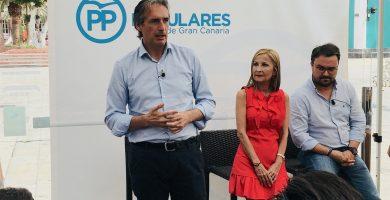 De la Serna, durante su visita a Canarias. / EP