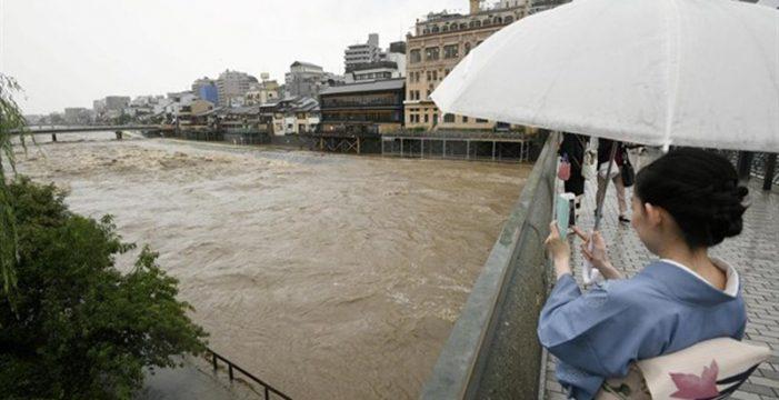 Las lluvias torrenciales dejan al menos 46 muertos y 48 desaparecidos en Japón