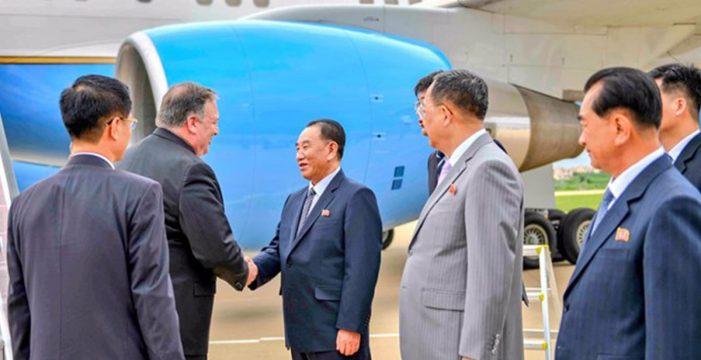 """Corea del Norte critica la """"lamentable"""" presión """"unilateral"""" ejercida por Pompeo"""