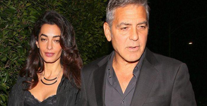 George Clooney, hospitalizado tras sufrir un accidente de tráfico en Italia