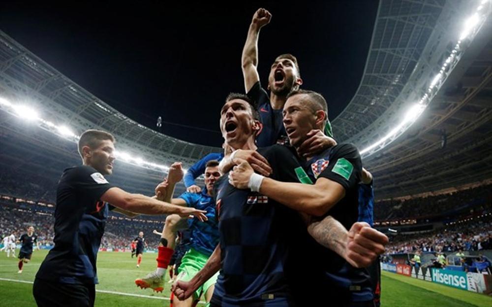 La selección de Croacia alcanza la final. / EP