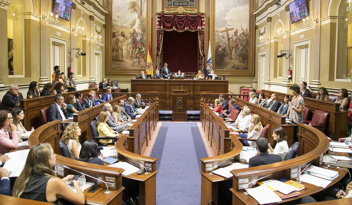 Resultado de imagen de Todos los grupos parlamento canarias