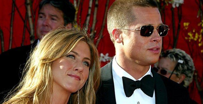 Jennifer Aniston y Brad Pitt, ¿cita secreta en Londres?