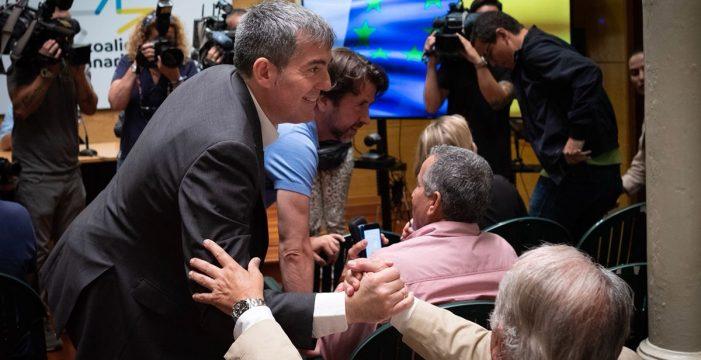 Clavijo es elegido candidato de CC a la Presidencia del Gobierno de Canarias