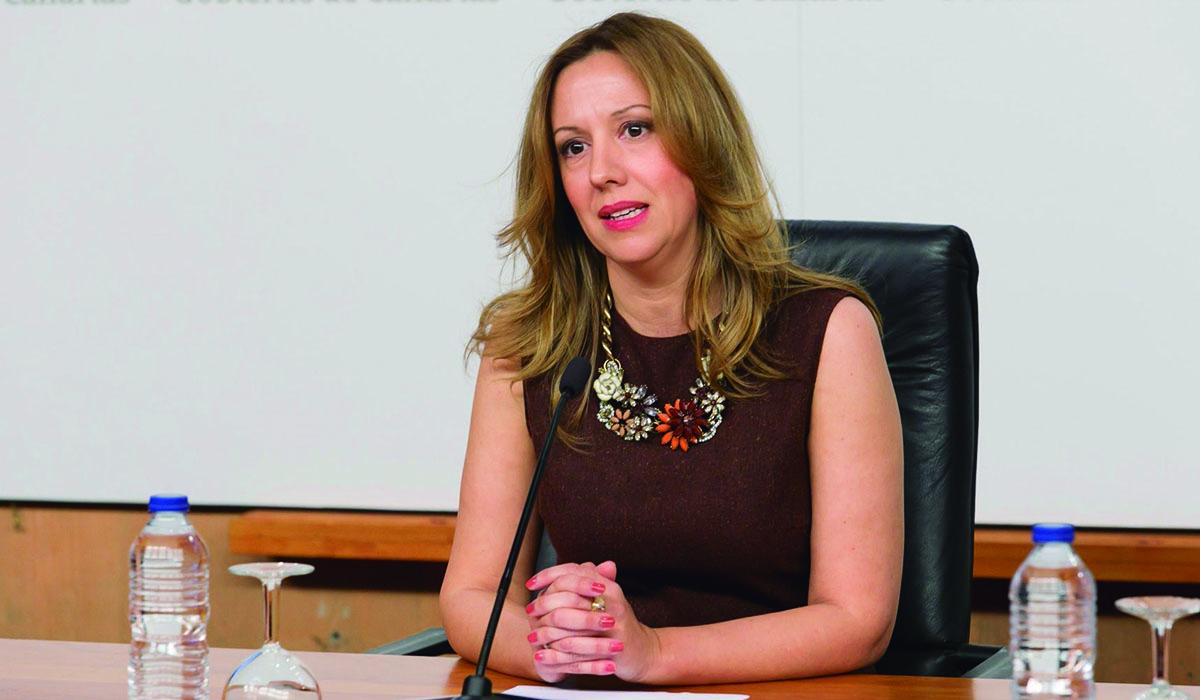 Rosa Dávila, consejera de Hacienda. | EUROPA PRESS