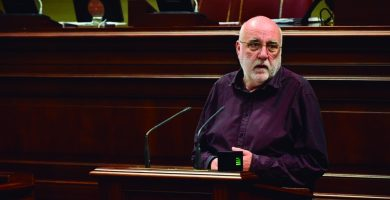 Manuel Marrero, diputado del Grupo Parlamentario Podemos Canarias. | EP