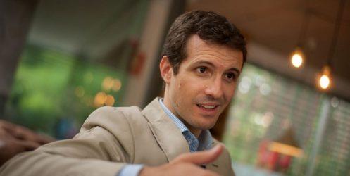 """Pablo Casado: """"Canarias no necesita en Madrid ningún partido regionalista  ni nacionalista"""""""