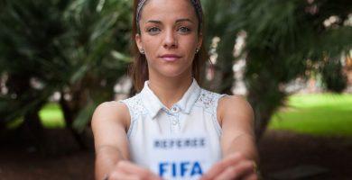 Marta Huerta, árbitro internacional