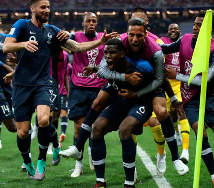 Francia conquista su segundo Mundial tras ganar a Croacia (4-2)