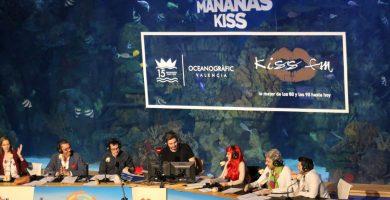 Xavi Rodríguez, María Lama y el resto del equipo de 'Las Mañanas Kiss' visitan Tenerife para grabar su programa. | DA