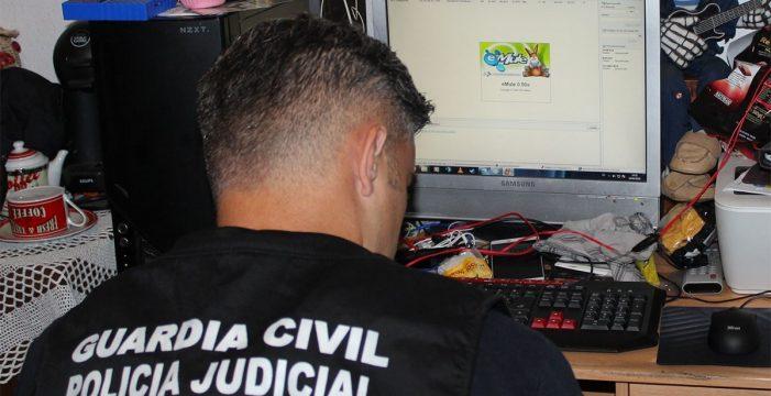 Dos detenidos y otros tres investigados en una operación contra la pornografía infantil en Tenerife