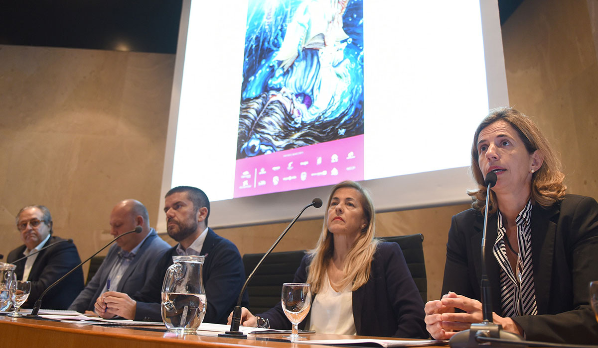 La presentación de la UVA 2018 tuvo lugar ayer en rueda de prensa en la Fundación CajaCanarias. Sergio Méndez