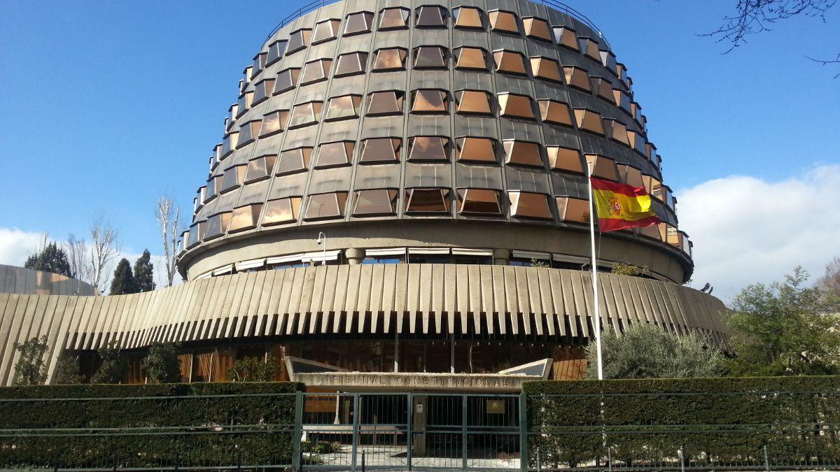 Sede del Tribunal Constitucional en Madrid. DA