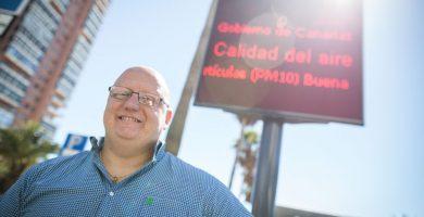 Carlos Correa es el concejal de Medio Ambiente de Santa Cruz. A. G.