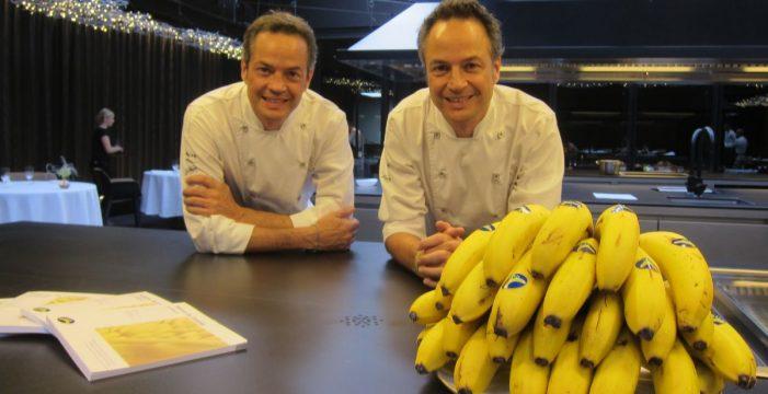 Los hermanos Torres se comprometen con el plátano canario