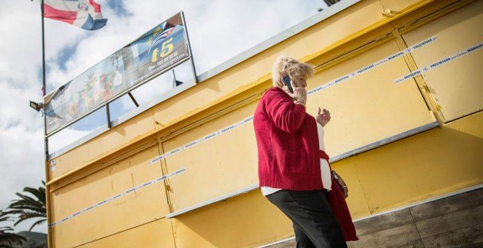 Los seis primeros kioscos antiguos de Las Teresitas ya pueden ser retirados