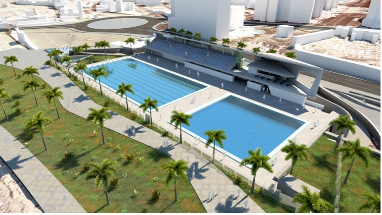Aprobado el convenio para la construcci n de la nueva for Piscina municipal puerto de la cruz