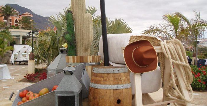 Pícnic al estilo americano en el hotel Bahía del Duque