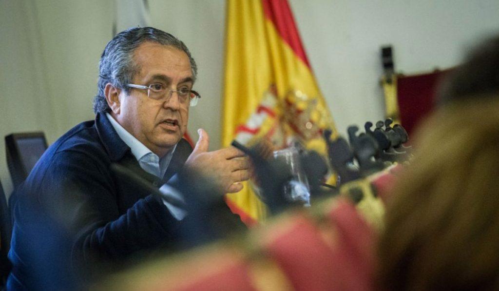 El presidente y portavoz del Partido Popular en el Ayuntamiento de La laguna, Antonio Alarcó. DA