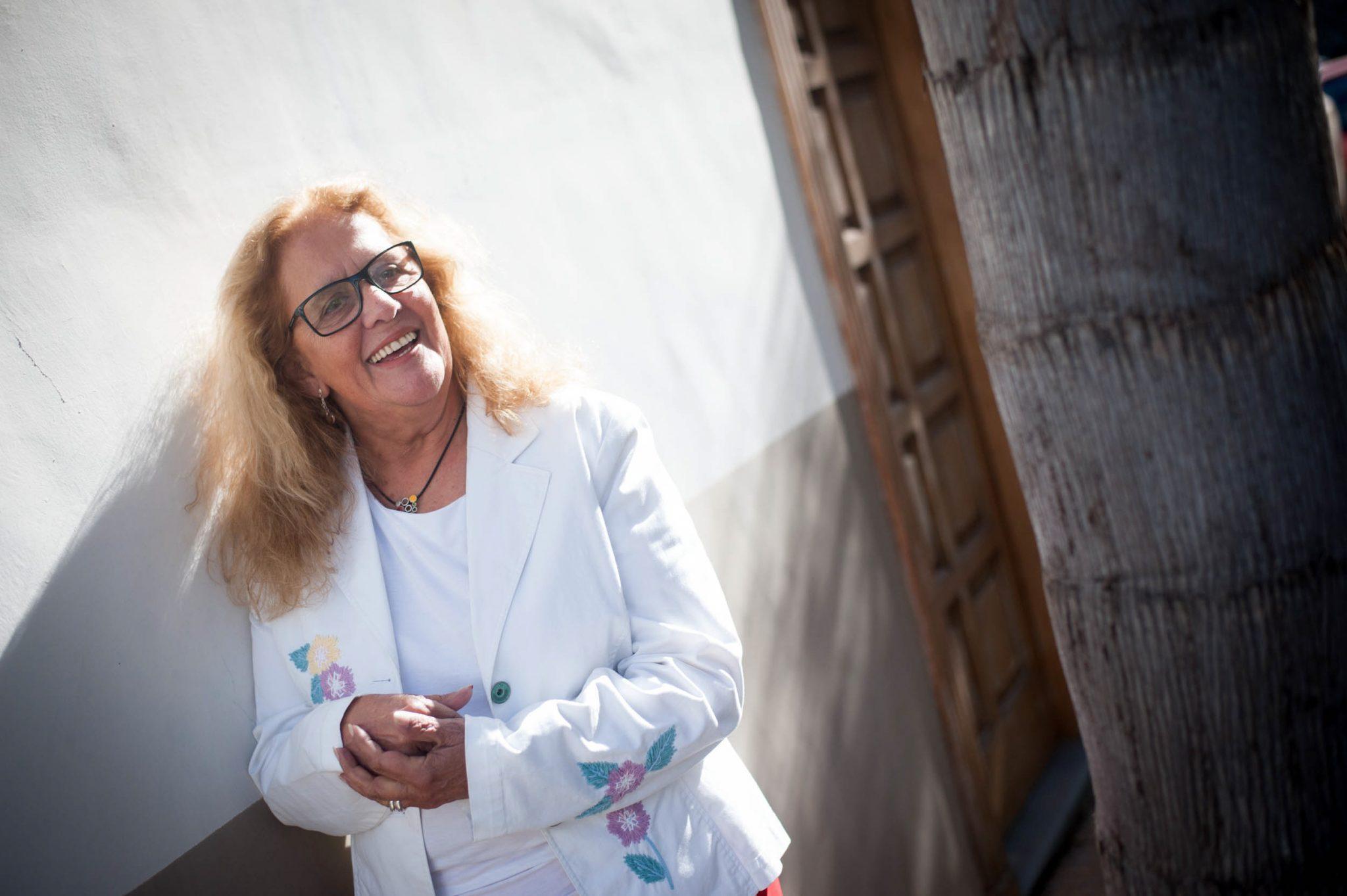 Mercedes Pérez Schwartz, presidenta de la Asociación de Memoria Histórica de Tenerife