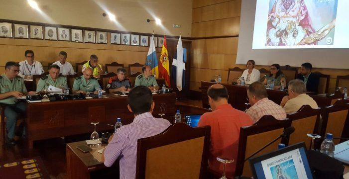 350 efectivos formarán el operativo para las Fiestas de la Patrona en Candelaria