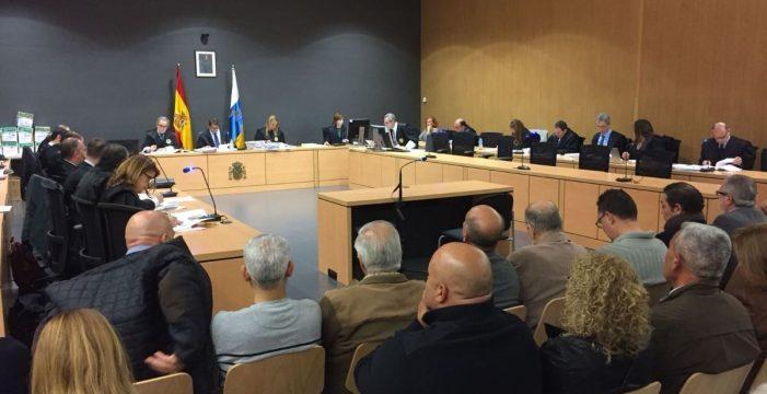Absueltos los siete acusados que defendieron su inocencia en el caso Faycán