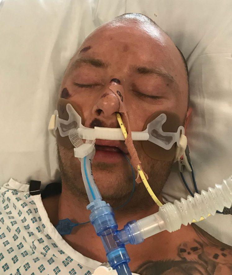 El hombre misterioso, en coma. / METRO