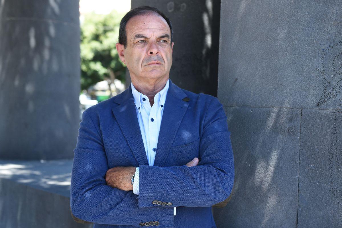 El vicepresidente de DIARIO DE AVISOS, José Luis Zubieta. DA